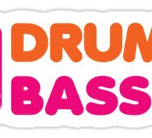 DrummN' Bass Sticker