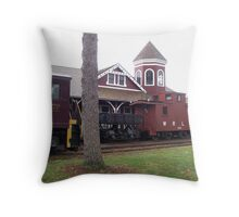 Location Clue II Throw Pillow