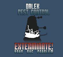 Dalek Pest Control by rdkrex