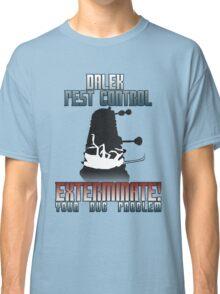 Dalek Pest Control Classic T-Shirt