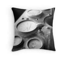 Driver's Seat Throw Pillow