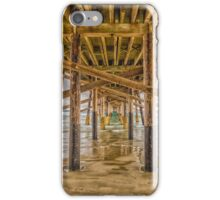 Newport Beach Pier 2 iPhone Case/Skin