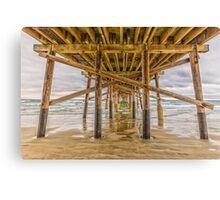 Newport Beach Pier 2 Canvas Print