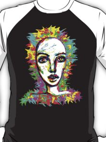 Psychedelic-Pop; Miss Peony Visio T-Shirt