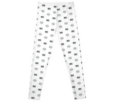 Retro Gaming Controller Leggings Pattern Leggings