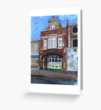 Hull, Pub, Beverley Road Greeting Card