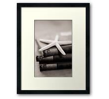 Beach Read Framed Print
