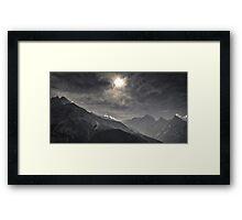 NEPAL:NAMCHE BAZAR Framed Print