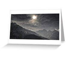 NEPAL:NAMCHE BAZAR Greeting Card
