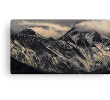 NEPAL:MT.EVEREST & LHOTSE Canvas Print