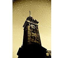 Golden Tower Of Time Photographic Print