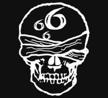 666 Skull bandaged by RazorbladeTrend