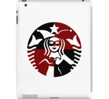 Quinn Coffee (Black+Red) iPad Case/Skin