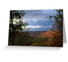 'From the Ridgetop' Greeting Card