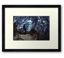 NEPAL:TRAVELLER Framed Print
