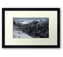 NEPAL:FROZEN VALLEY Framed Print