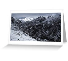 NEPAL:FROZEN VALLEY Greeting Card