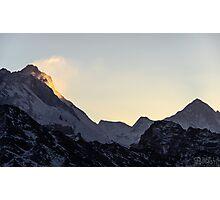 NEPAL:SUNRISE AT GOKYO RI Photographic Print