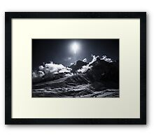 NEPAL:MACCHERMO Framed Print