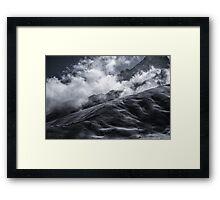 NEPAL:MINUS 20 Framed Print