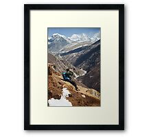 NEPAL:THE PHOTOGRAPHER Framed Print