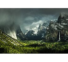 USA:YOSEMITE IN SPRING Photographic Print