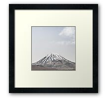 NEW ZEALAND:LONE MOUNTAIN Framed Print