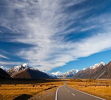 NEW ZEALAND:ROAD TO MT.COOK by philaphoto