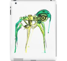 Green Creepy Crawlie iPad Case/Skin