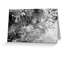 Dream Bench 2 Greeting Card