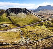 ICELAND:PANORAMA WITH VOLCANO by philaphoto