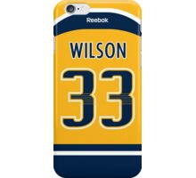 Nashville Predators Colin Wilson Jersey Back Phone Case iPhone Case/Skin