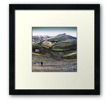 ICELAND:PRIMEVAL Framed Print