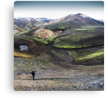 ICELAND:PRIMEVAL Canvas Print