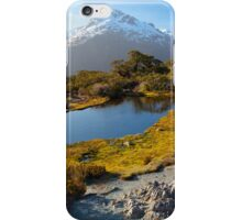 NEW ZEALAND:KEY SUMMIT AT SUNSET iPhone Case/Skin