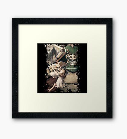 Ronin of the Mushroom Kingdom Framed Print