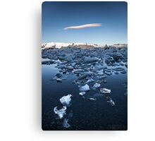 ICELAND:GLACIER LAGOON Canvas Print