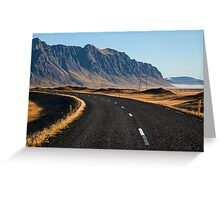 ICELAND:THE RING ROAD Greeting Card