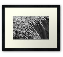 ICELAND:DANGEROUSLY CLOSE Framed Print