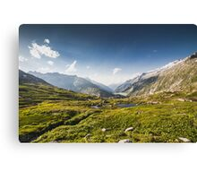 SWISS ALPS:THE HIGH ROAD Canvas Print