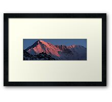NEPAL:CHO OYU AT SUNRISE Framed Print