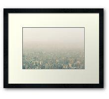 NEPAL:KATHMANDU SMOG Framed Print