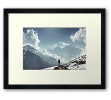 NEPAL:REMOTE Framed Print