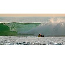 Christmas afternoon surfing Photographic Print