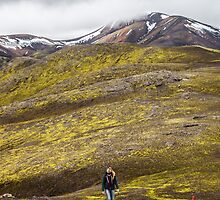ICELAND:THE HIKER by philaphoto
