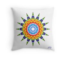 Shroom Blossom Throw Pillow