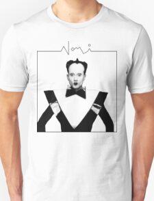 klaus nomi white Unisex T-Shirt