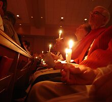 Christmas Eve Candlelight Service by clizzio