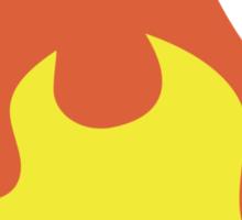 Fire EmojiOne Emoji Sticker