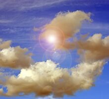 Clouds Floating By II by Laurie Puglia
